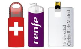 Memorias USB por sector