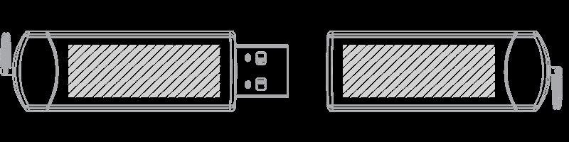 Memoria USB Serigrafía