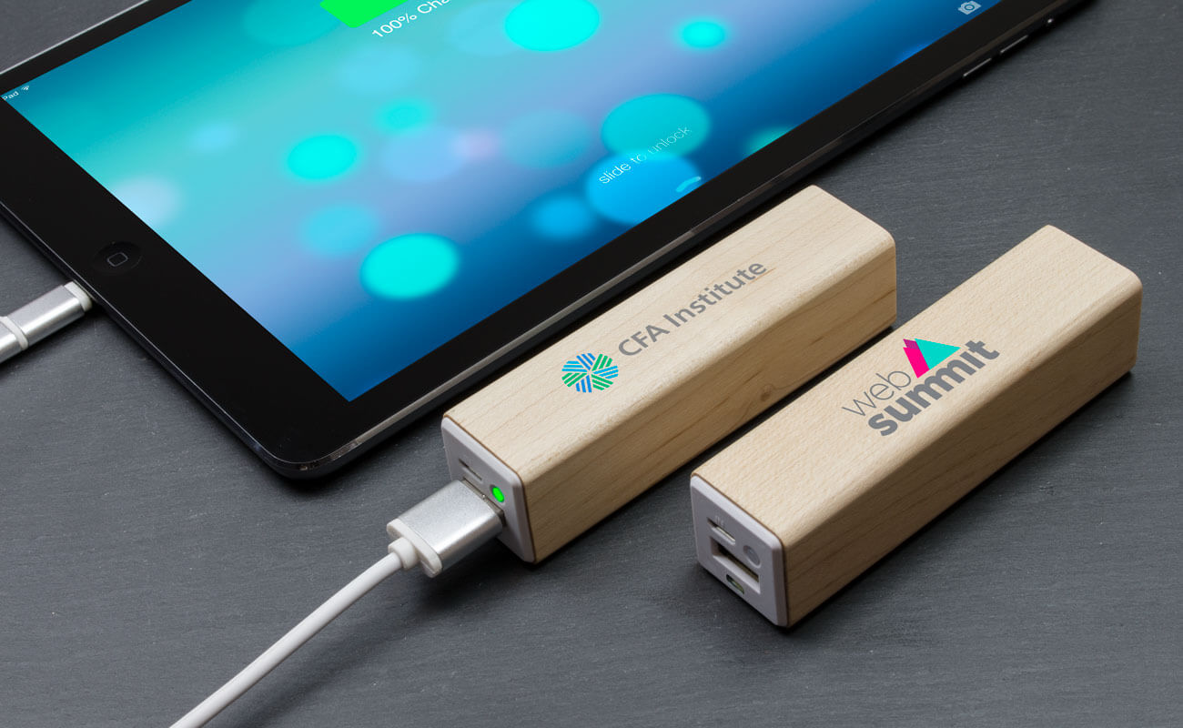 Maple - Power Bank Personalizado