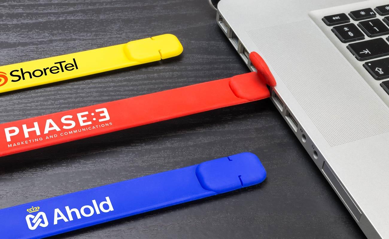 Slap - Pulseras USB Personalizadas