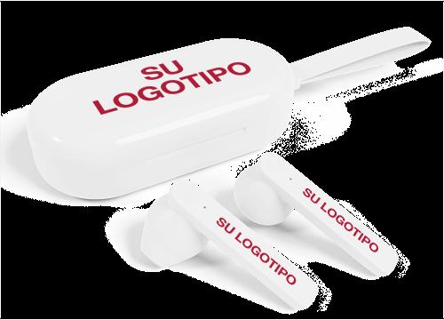 Duet - Auriculares True Wireless con logo