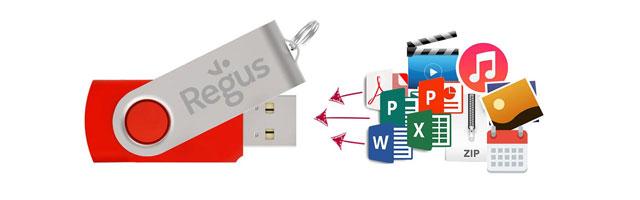 Flash Drive Precarga de datos