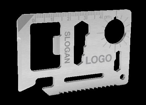 Kit - Herramienta de tarjeta de crédito grabado a láser