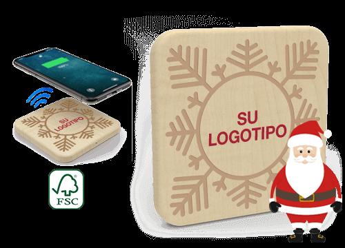 Forest Christmas - Cargadores Inalámbrico Personalizados Precio