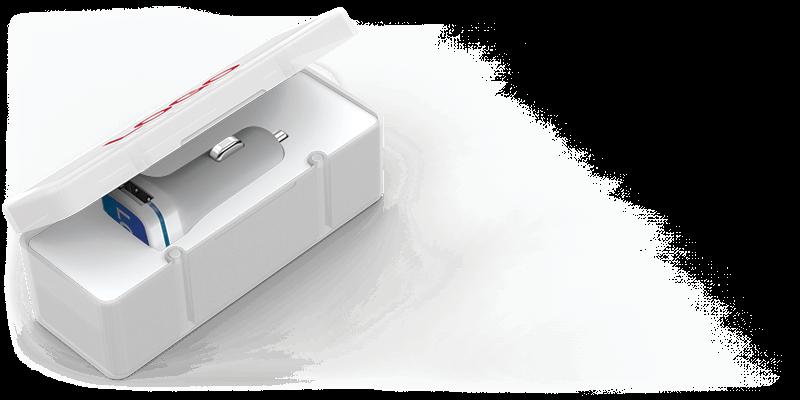 Vista - Cargadores de Coche USB Personalizados Valencia