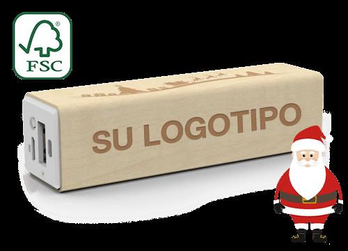 Maple Christmas - Power Bank Personalizado