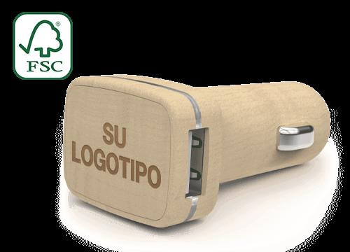 Woodie - Cargadores de Coche USB Personalizados Precio