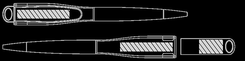 Bolígrafo USB Serigrafía
