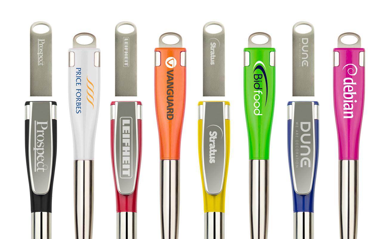 Jot - Boligrafos USB Personalizados