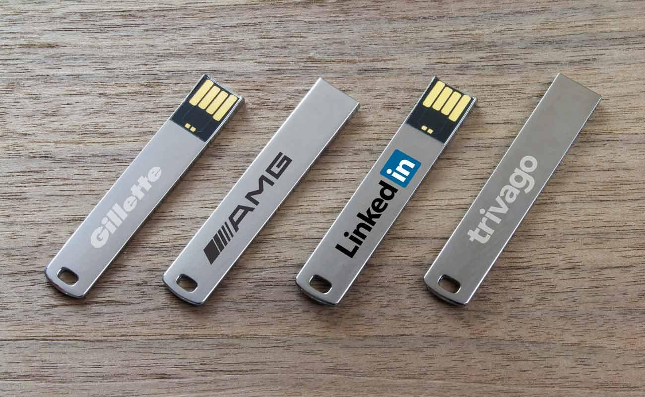 WalletStick - USB finos personalizados